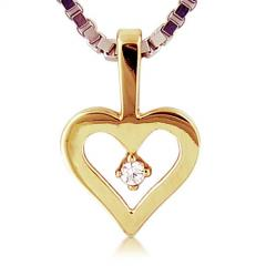 Unmatched 18kt Yellow Gold Heart Pendant